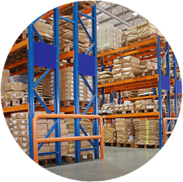 Warehousing Circle Image